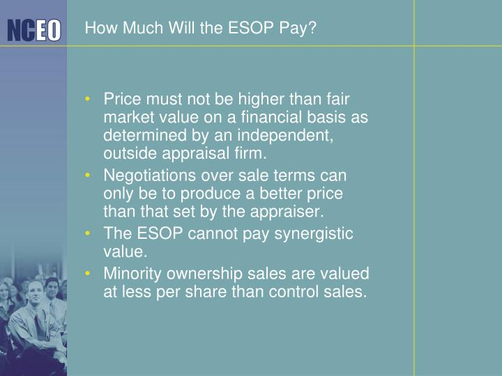 How Much Will the ESOP Pay?