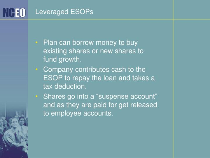Leveraged ESOPs