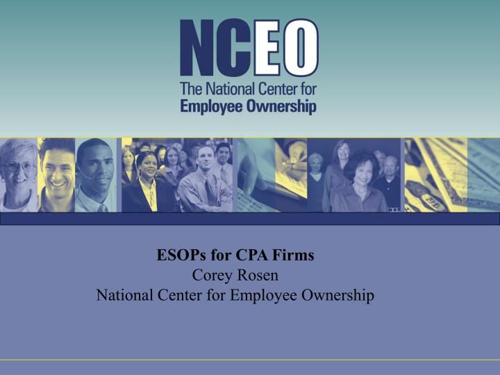 ESOPs for CPA Firms