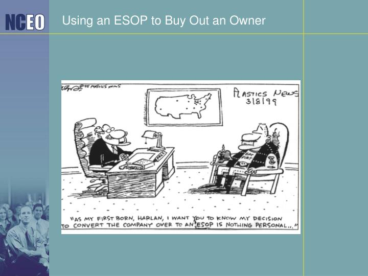 Using an ESOP to Buy Out an Owner