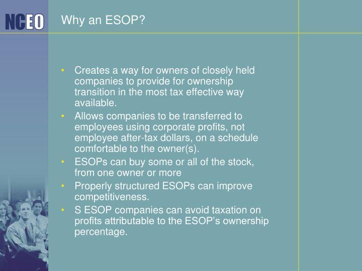 Why an ESOP?