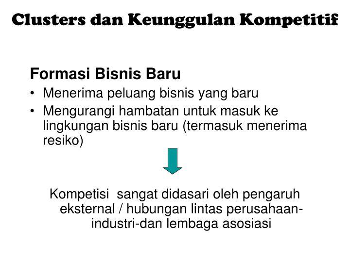 Clusters dan Keunggulan Kompetitif