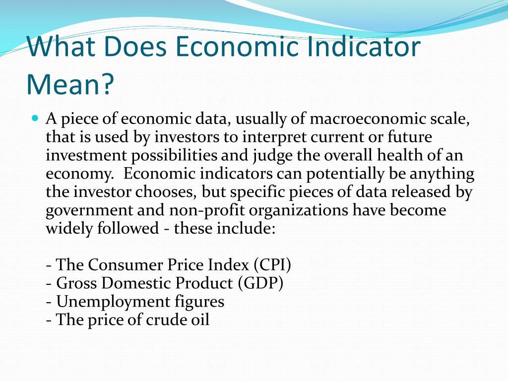The secrets of economic indicators free download