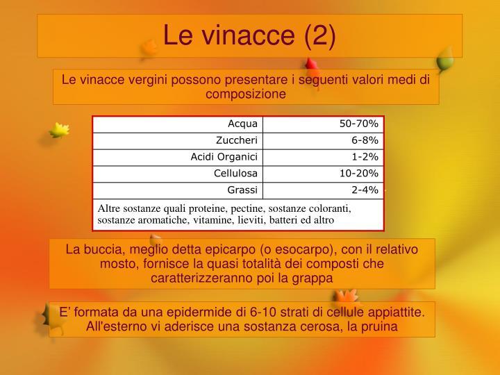 Le vinacce (2)