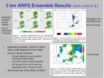 3 km arps ensemble results from levit et al