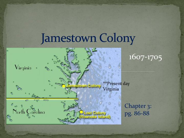 jamestown colony a success or failure