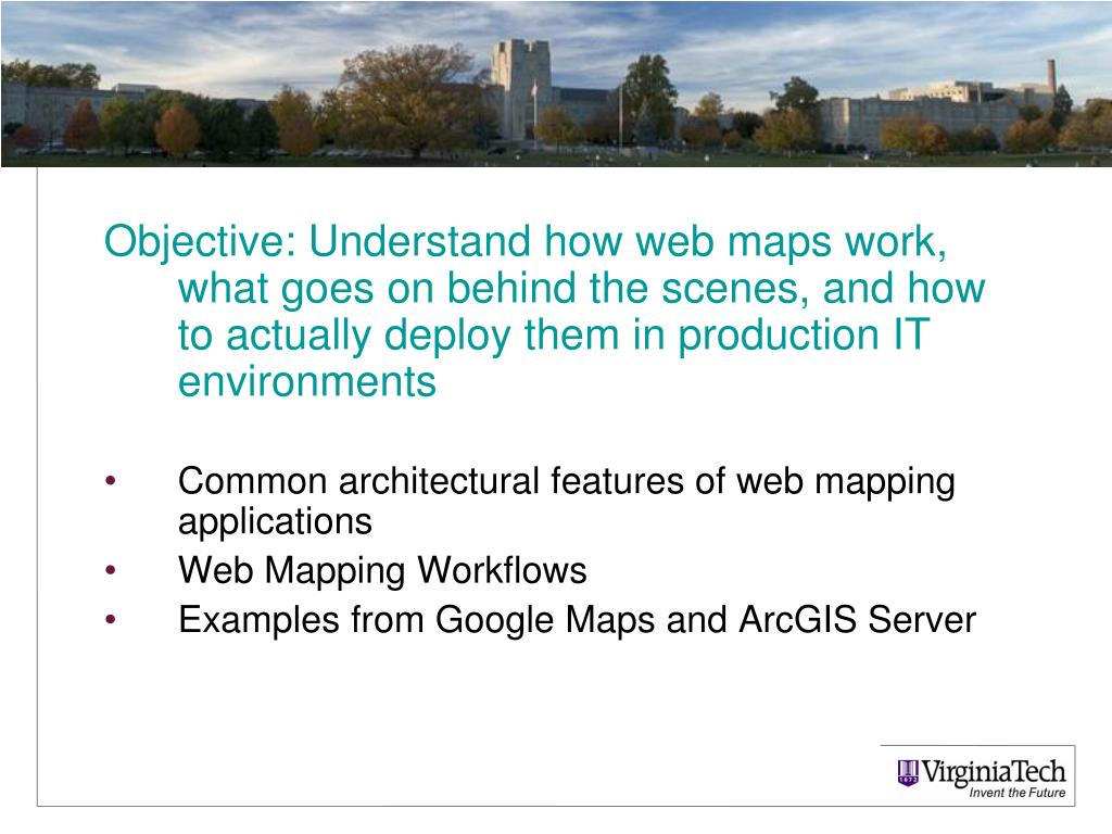 PPT - Web Mapping PowerPoint Presentation - ID:4080656