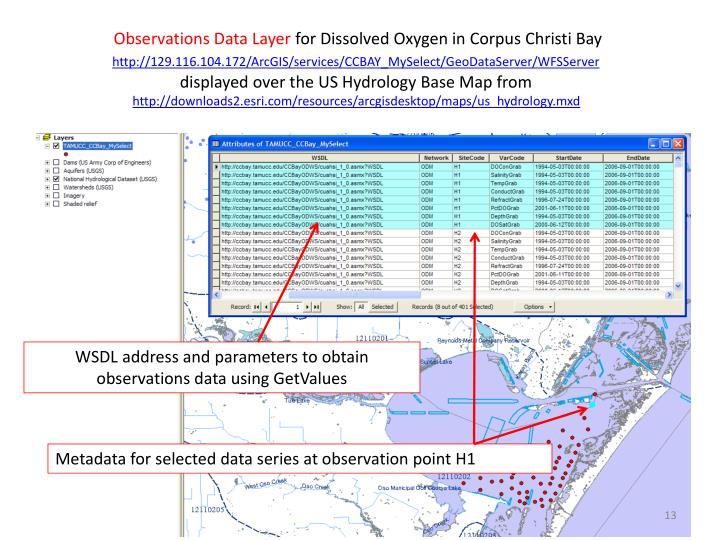 Observations Data Layer