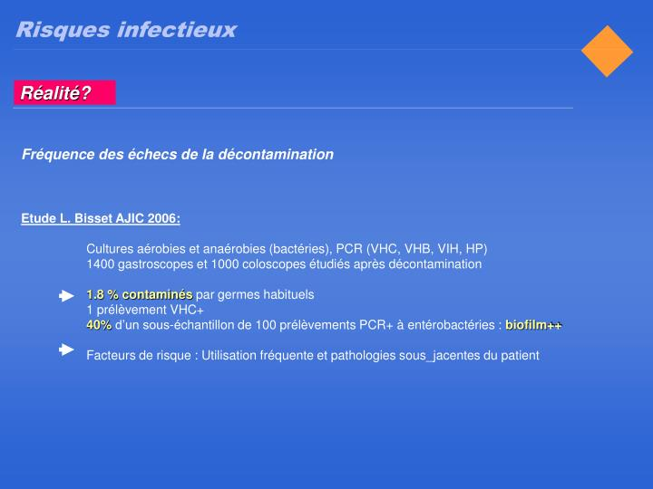 Risques infectieux