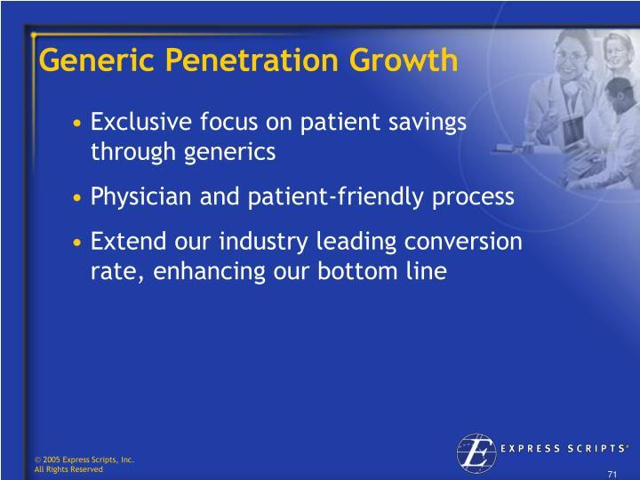 Generic Penetration Growth