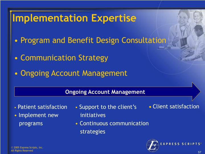 Implementation Expertise