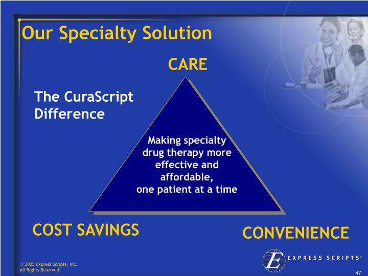 Our Specialty Solution