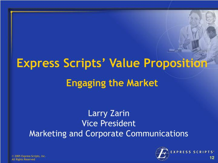 Express Scripts' Value Proposition