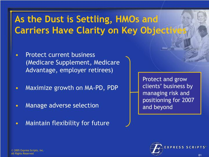 As the Dust is Settling, HMOs and   Carriers Have Clarity on Key Objectives