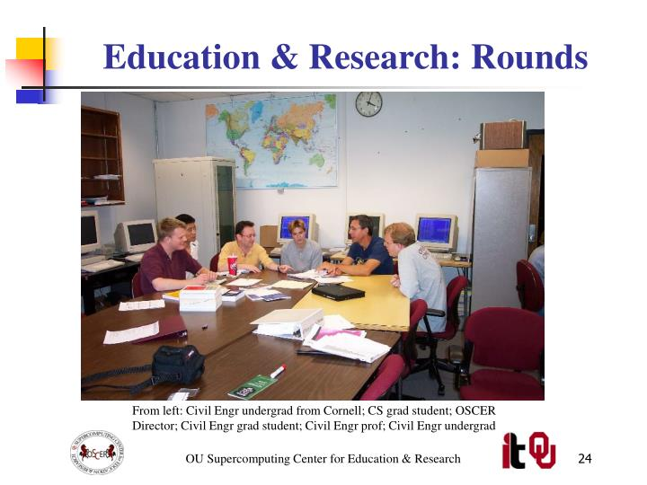 Education & Research: Rounds
