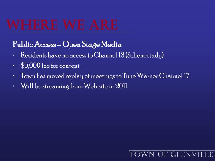 Town of Glenville