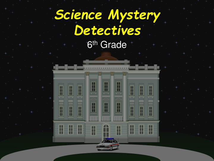 science mystery detectives n.