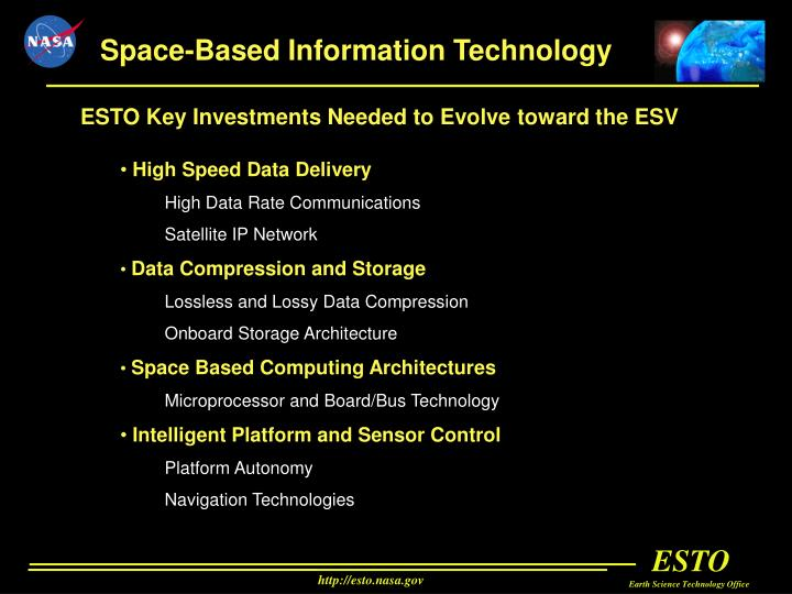 Space-Based Information Technology