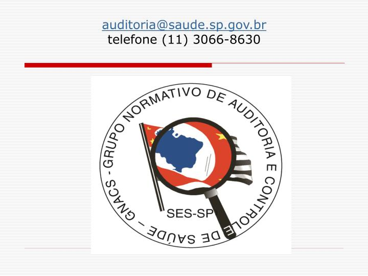 auditoria@saude.sp.gov.br