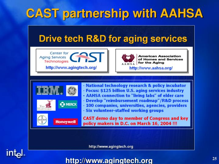 CAST partnership with AAHSA