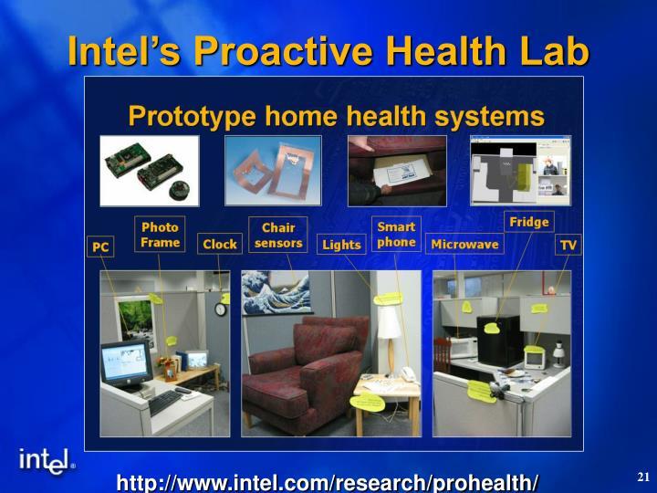 Intel's Proactive Health Lab