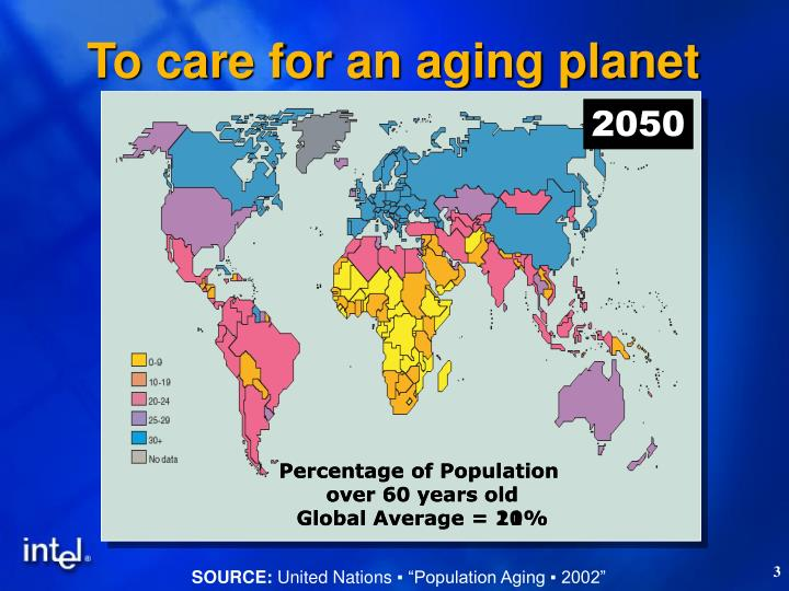 To care for an aging planet