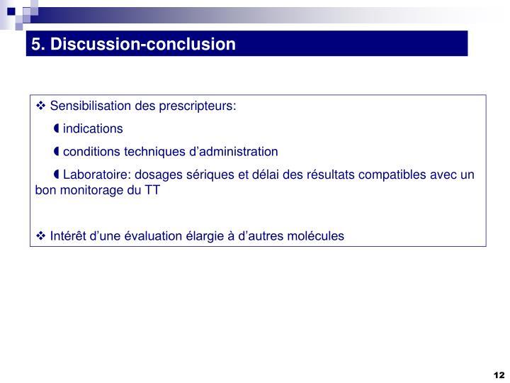 5. Discussion-conclusion