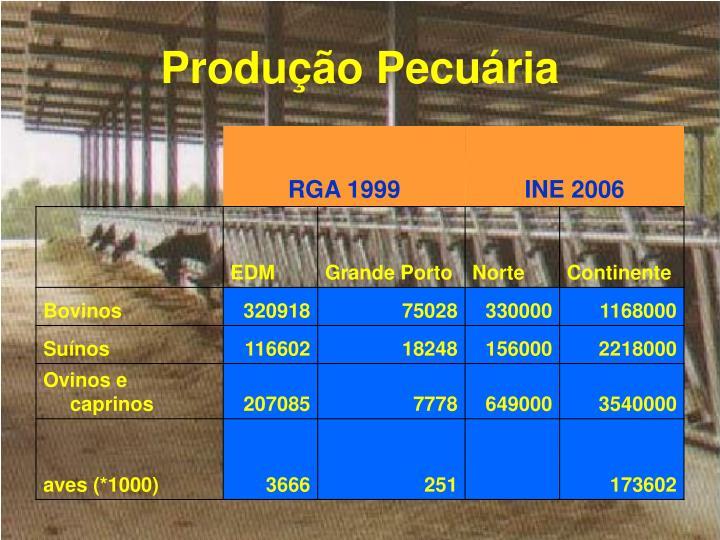Produção Pecuária
