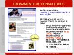 treinamento de consultores