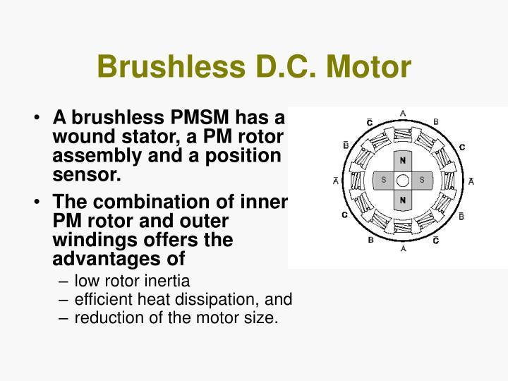 Brushless D.C. Motor