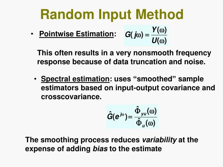 Random Input Method