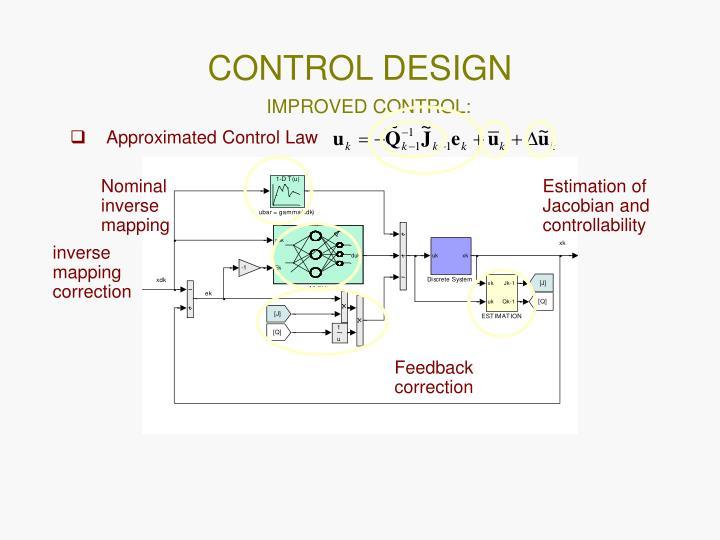CONTROL DESIGN