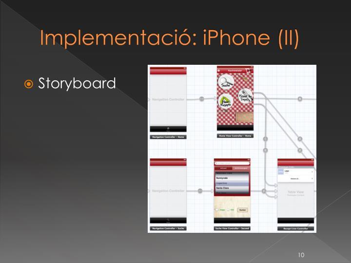 Implementació: