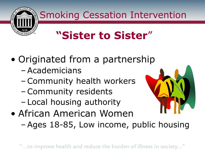 Smoking cessation intervention