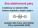 dva elektronov p ry