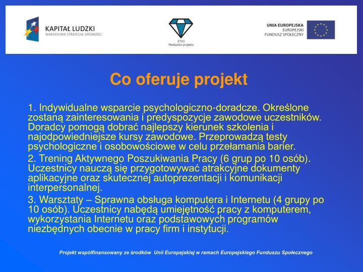Co oferuje projekt