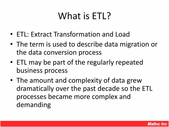 PPT - What is ETL? PowerPoint Presentation, free download