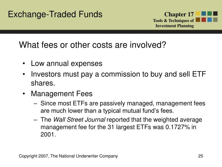 What fees or other costs are involved?