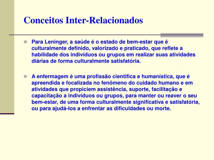 Conceitos Inter-Relacionados