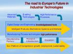 the road to europe s future in industrial technologies