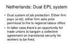 netherlands dual epl system