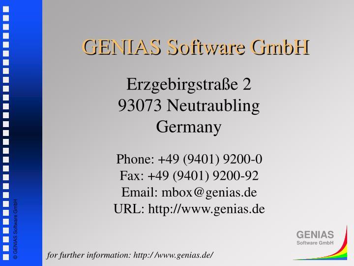 GENIAS Software GmbH