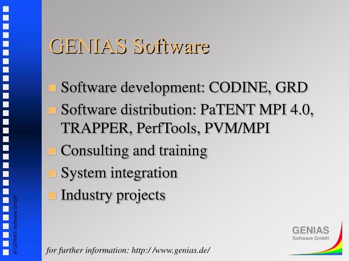 GENIAS Software