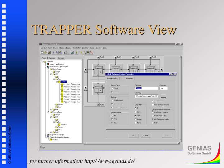 TRAPPER Software View