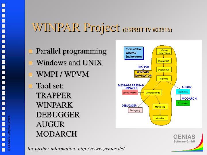 WINPAR Project
