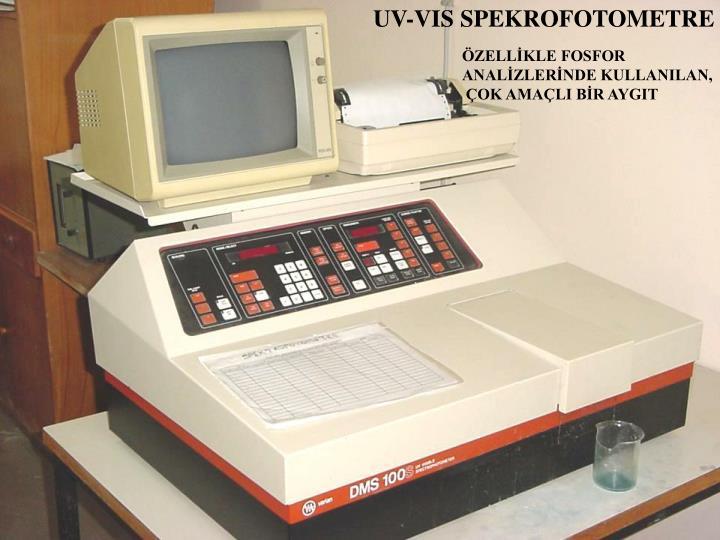 UV-VIS SPEKROFOTOMETRE