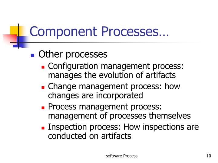 Component Processes…