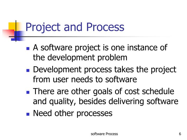 Project and Process
