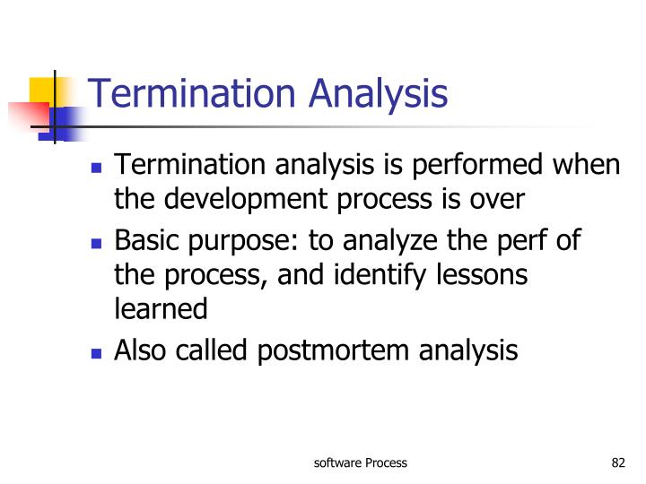Termination Analysis