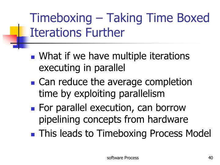 Timeboxing – Taking Time Boxed Iterations Further